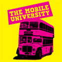 Yellow graphic: mobile university