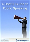A useful guide to public speaking