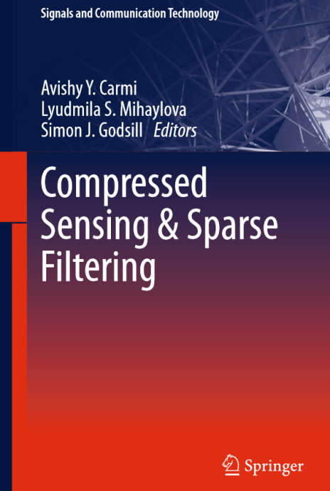 Compressed Sensing and Sparse Filtering book cover thumbnail