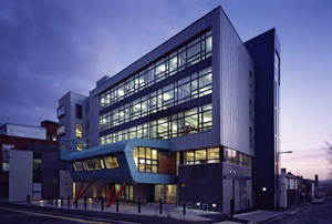 Picture of the ICOSS building at the University of Sheffield