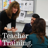 Teacher Training Button