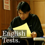 English Tests Button