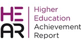 Logo for HEAR Higher Education Achievement Report