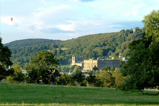Photo of Chatsworth House in the Peak District