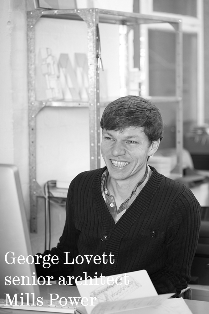 George Lovett senior architect Mills Power