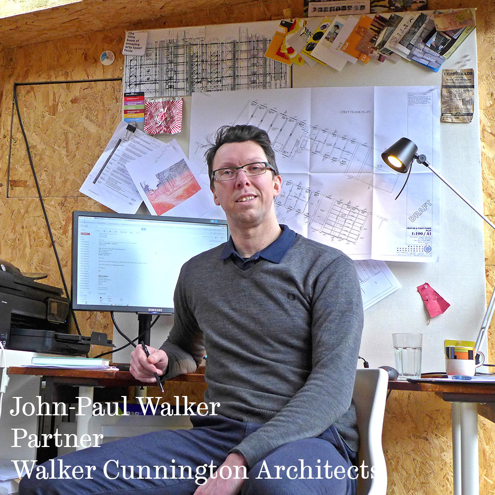 John-Paul Walker Partner Walker Cunnington Architects