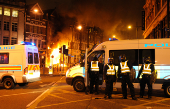 The system could have helped verify online rumours during the London riots