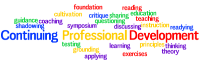 Continuing Professional Development Wordle