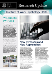 IWP Research Update 2014