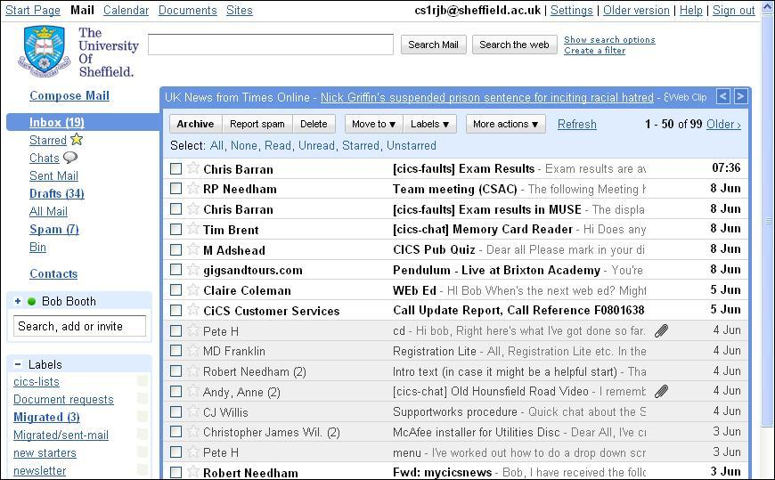 how to change outlook back to a single inbox
