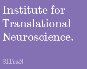 Sheffield Institute for Translational Neuroscience