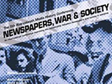 Newspapers, War and Society poster