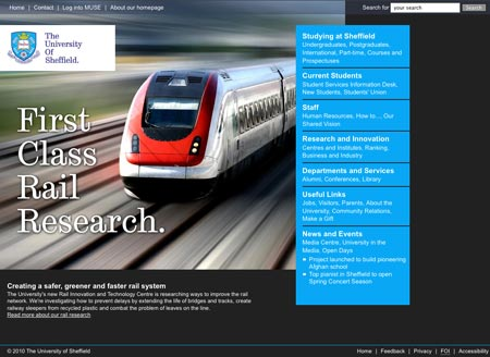 Train - First class rail research