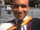 Munyaradzi Chawawa's Google Glass graduation video