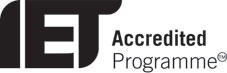 IET Accredited Degree Logo