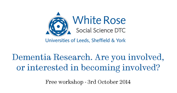 Dementia workshop White Rose image