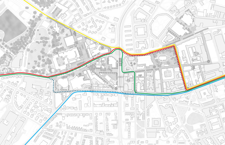 Public Transport Our Vision Campus Masterplan The