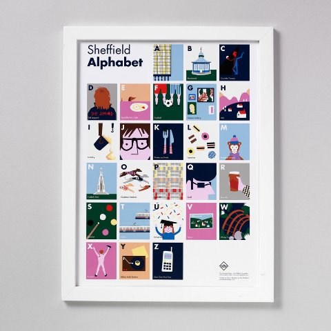 Sheffield Alphabet Print Prize