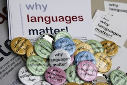 Why languages matter badges