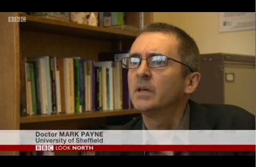 Dr Mark Payne speaks on BBC Look North about integration