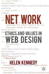 "Book cover ""Network Ethics..."" Helen Kennedy"
