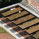 Image of green roof research facility