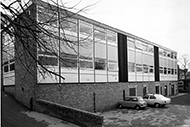 The First Departmental Building - 3 Clarkehouse Road 1977