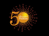 Politics 50th anniversary logo