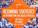 Beginning Statistics front cover
