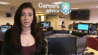 Careers advice video
