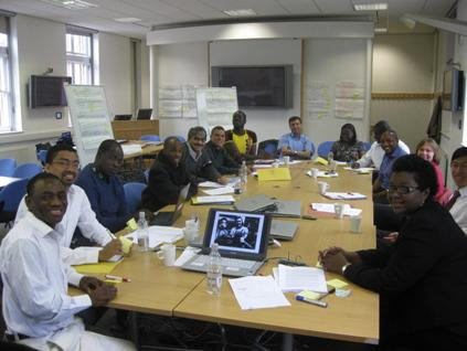 Photo showing members of the Sheffield International Health Interest Group (SIHI)