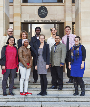 Picture of Australian Parliamentary Studies cohort