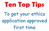 Ten Top Tips - ethics