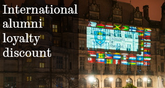 International alumni loyalty discount
