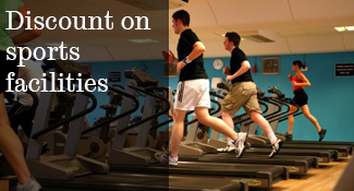 Discounted sports facilities