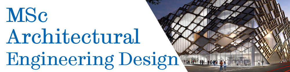MSc Architectural Engineering Design