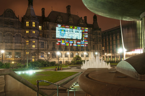 The University of Sheffield is proud to represent students from all over the world