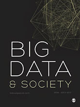 Picture of Big Data and Society book cover