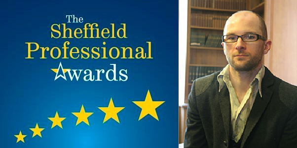Gareth Perry and the Sheffield Professional Award