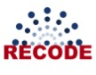 Picture of the Recode logo