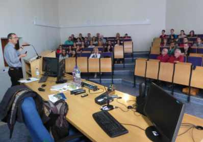 "Dr Mark Payne's guest lecture on ""Migration and Immigration: The Slovakian Roma in Sheffield"", Unive"