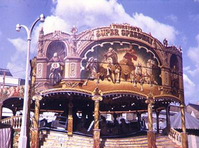 Stanley Thurston's Ark, Wisbech Fair, photographed by Lewis Shepperton c.1951, Gaudern Lambe Collect