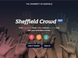 Sheffield Crowd website screenshot