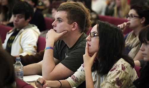 Picture of Sociological Studies students in a lecture