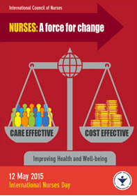 International Nurses Day poster 2015