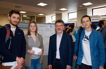 Poster prize winners group