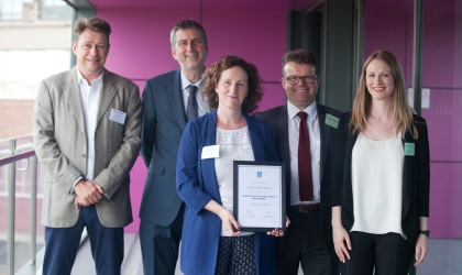 Alumni Volunteer Project of the Year Award – eMentoring Programme