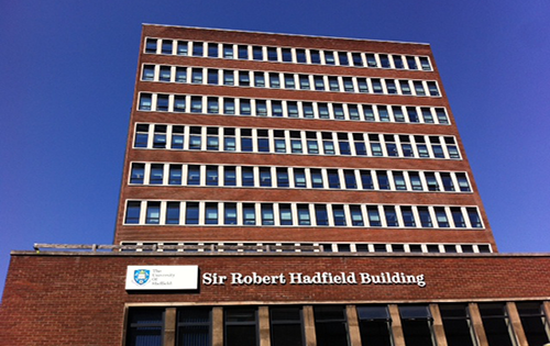 Sir Robert Hadfield building