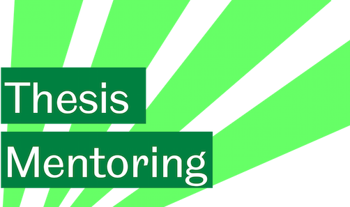 phd thesis mentoring