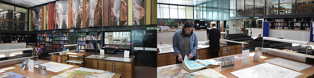 Maps Collection at Western Bank Library